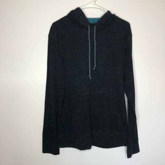 American Eagle Outfitters Other - Men's American Eagle Black Speckle Hoodie Shirt